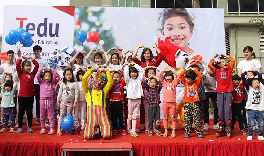 Vui giáng sinh cùng Hệ thống Giáo dục Quốc tế Tedu
